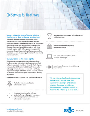 EDI Services for Healthcare