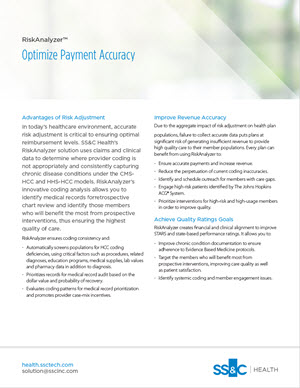 RiskAnalyzer: Optimize Payment Accuracy for HCC Coding