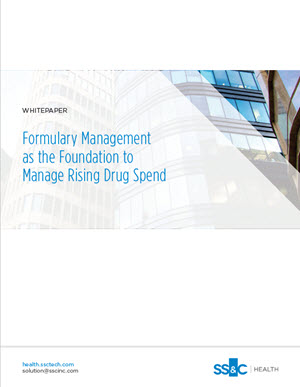 Formulary management as the foundation to manage rising drug spend