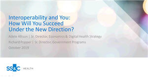 Interoperability and You: How Will You Succeed Under the New Direction?