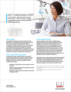 CareAnalyzer HEDIS® Reporting