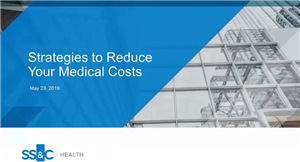 Strategies to reduce your medical costs