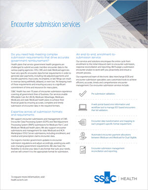 Encounter Submission Services