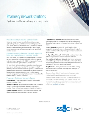 Pharmacy Network Solutions